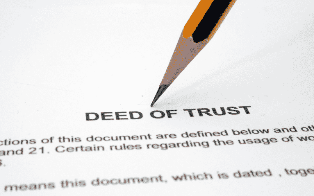 Which Documents Are Most Important When Investing in Trust Deeds?